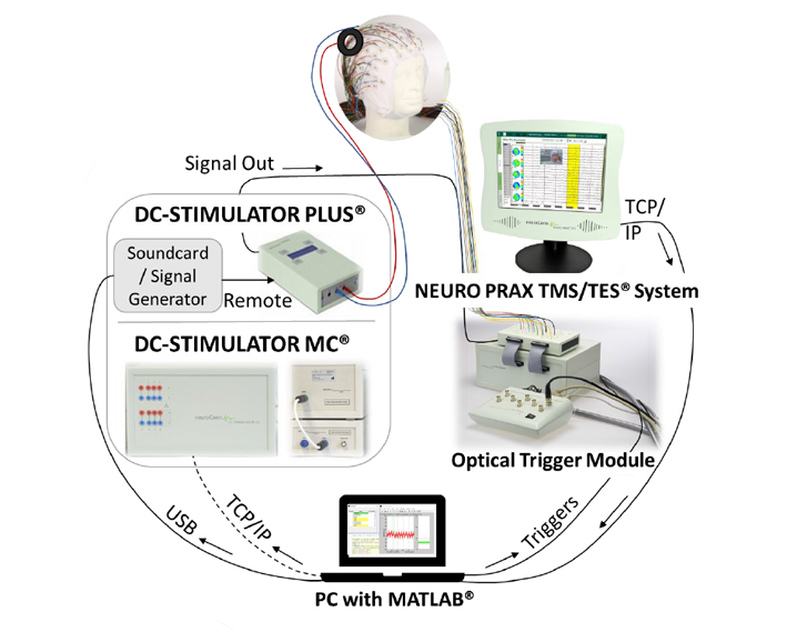 Forschung: Closed-Loop Lösung mit neuroConn Technologie