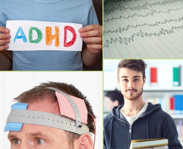 EEG-geleitete elektrische Gehirnstimulation für ADHS-Patienten